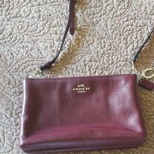 Coach Leather Crossbody Handbag